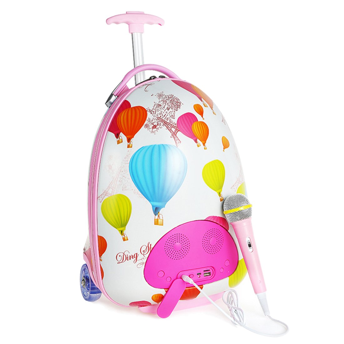 Enfants musique bagages valise karaoké chantant Machine avec Microphone fille cadeau jouet Instrument de musique jouet éducatif cadeau