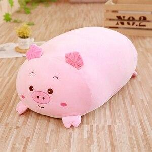 Image 4 - Novo animal macio dos desenhos animados travesseiro almofada bonito cão gordo/gato/totoro/pinguim/porco/sapo/shiba brinquedo de pelúcia recheado shiba crianças presente de aniversário