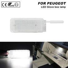 цена на 1X LED Interior Lamp 12V White Lights For Peugeot 1007 206 206+ 207 306 307 308 3008 406 407 5008 607 806 Citroen C3 C4 C5 C6 C8