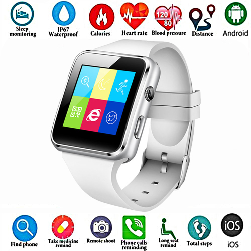 Smart-Watch Support Whatsapp High-Quality Stylish SIM for iPhone Millet Tf-Card Multi-Language