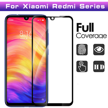 3D Full Coverage Tempered Glass For Redmi Note 8 8 Pro 7 6 Note 5A 4 4X Note 7S Screen Protector Protective Cover Film 100Pcs