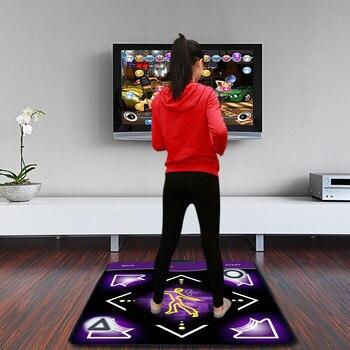 Single User Dance Mats Non-Slip Dancers Step yoga Pads Sense Game for PC Children Kids Doll Toys Girls Boys Birthday Gifts