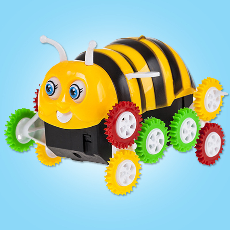 Stall Hot Selling Electric Toy Car Electric Tilting Bees Tilting Small Bees Tilting Car
