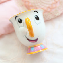 Cartoon Beauty and The Beast Cup 250ml Ceramic Creative Coffee Milk Mugs Valentine's Day Gifts Mrs Potts Chip Cup Drop Shipping