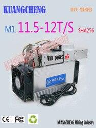 Gebruikt Asic BTC BCH Mijnwerker WhatsMiner M1 11.5 T-12.5 T Economische Dan Antminer S9 S11 S15 T15 T9 z9 B7 WhatsMiner M3 M3X M10