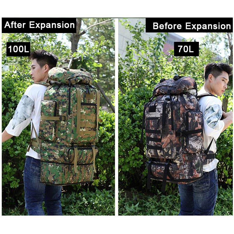 XL Tactical Backpack Demo