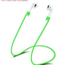 CUIMENG Silicone Strap Loop Cable Cord String Rope for iphone Wireless Headphone Earpods