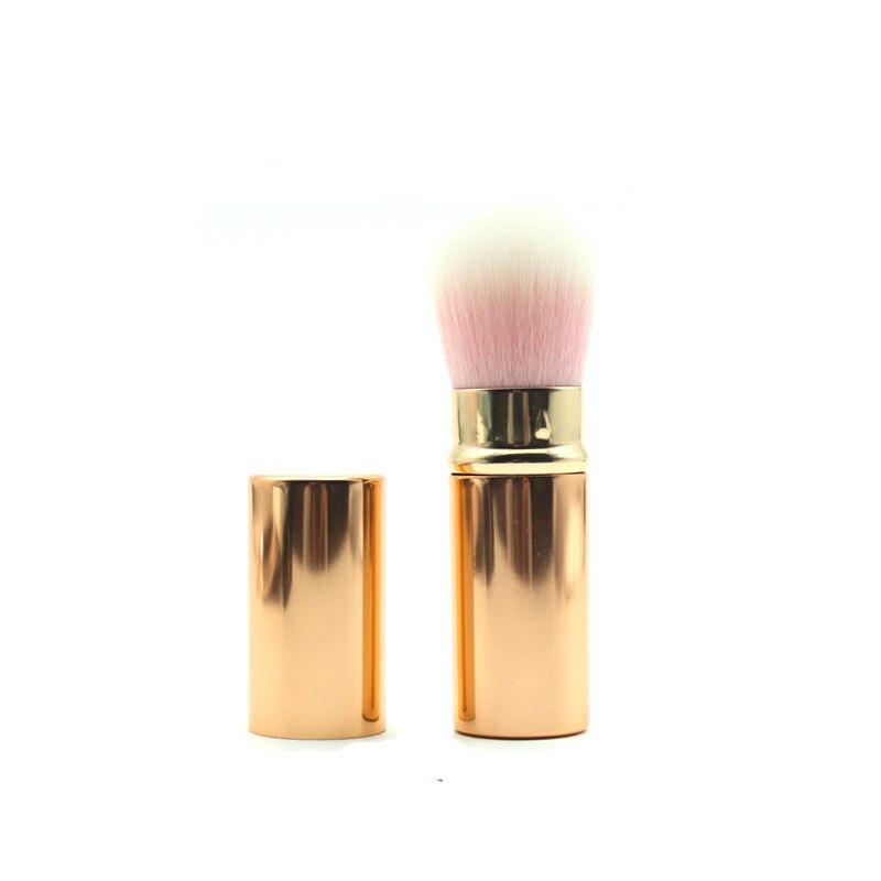 נייד נשלף איפור מברשות אבקת קרן פנים מברשת Maquiagem איפור קוסמטי כלים סומק מברשת לנשים הלחי