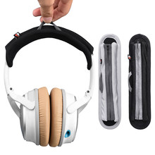 Headset Repair Elastic Soft Headband Cushion Head Beam Protective Pads Scratch Proof Foam For Bose QC35 QC25 Sony MDR Beats Solo(China)