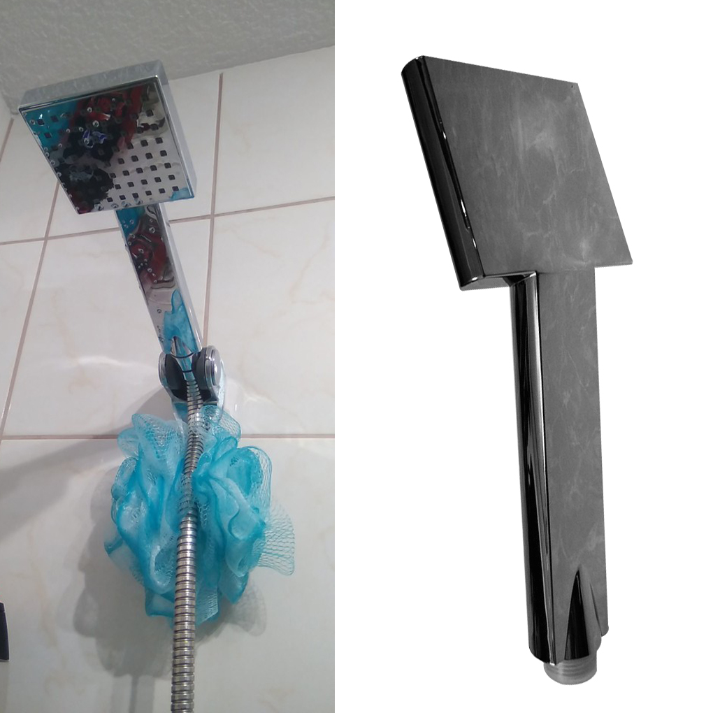 Душ насадка квадрат вода экономия душ насадка высокое давление ванна спрей SPA пластик антикоррозийный ручной гальваника распылитель