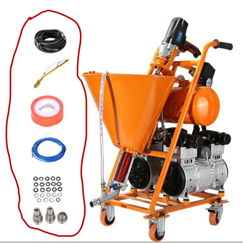 Высокие аксессуары для нормализации давления, водостойкая машина для распыления шпатлевки, порошковый полиуретан, холодный Праймер, детали для проникновения каменной краски, шпатлевка Пистолеты-распылители      АлиЭкспресс