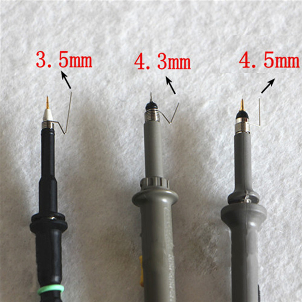 5pcs/set 3.5mm/4.3mm/4.5mm Ground Spring Oscilloscope Probe Torsion Spring For Tektronix Oscilloscope Probe Spare Parts