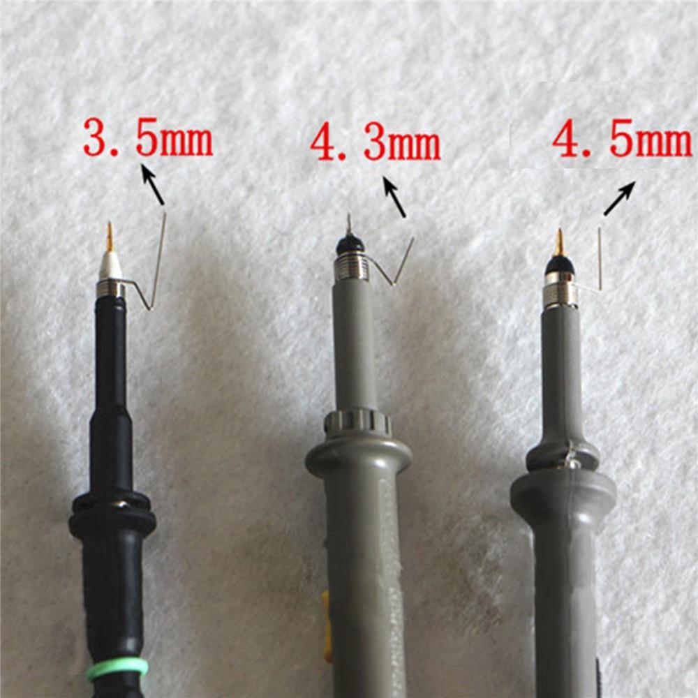 5pcs/set 3.5mm/4.3mm/4.5mm Ground Spring Oscilloscope Probe Torsion Spring For Tektronix Oscilloscope Probe Spare Parts