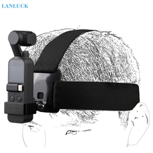 Dji osmo 포켓 액세서리 용 벨트 스트랩 마운트를 착용하는 카메라 헤드 밴드 gopro 용 dji osmo 포켓 용 핸드 헬드 짐벌 홀더