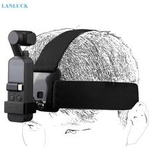 Kamera kafa bandı giyen kemer kayışı dağı DJI OSMO cep aksesuarları el Gimbal tutucu DJI OSMO cep GOPRO