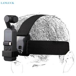 Image 1 - Kamera kafa bandı giyen kemer kayışı dağı DJI OSMO cep aksesuarları el Gimbal tutucu DJI OSMO cep GOPRO