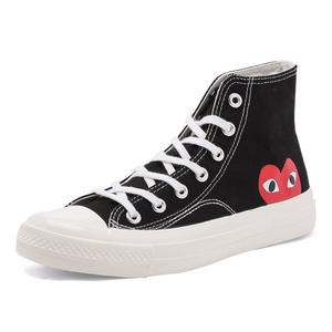 Mvp Boy STAR PLAY Canvas Black CDG 1970s All cool star High/Low top Unisex Skateboarding Shoes sapato feminino zapatos de mujer