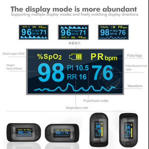 Image 5 - Health Care Finger Oled Pulse Oximeter SPO2 Medical Portable Blood Oxygen With Respiratory Rate Oximetro De Dedo Fit for family