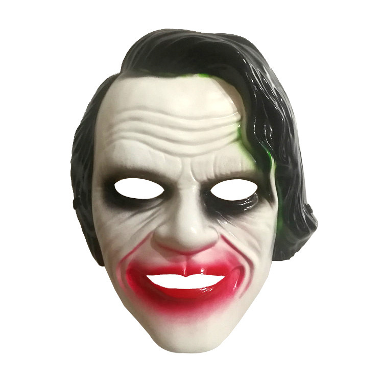 Halloween Party Mask Cosplay Horror Scary Pig Head Hair Evil Butcher Latex Mask