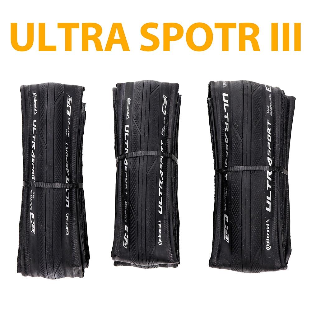 Continental ULTRA SPORT III Sport course 700*23/25C 28c route vélo pneu pliable vélo pneus GRAND Sport course