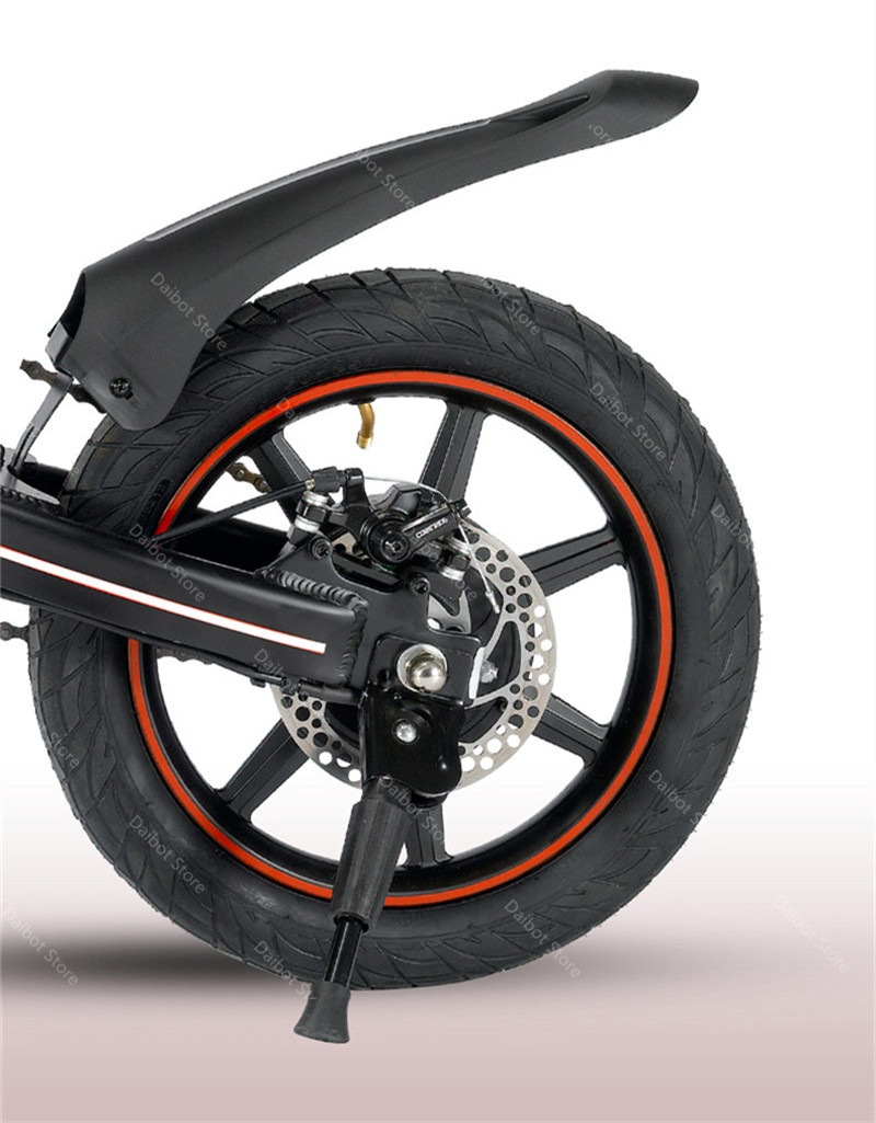 EU Stock Folding Electric bike 2 Wheels Electric Bicycles 14 Inch 400W 48V 15Ah Adult Electric Bicycle With Double Brake (11)