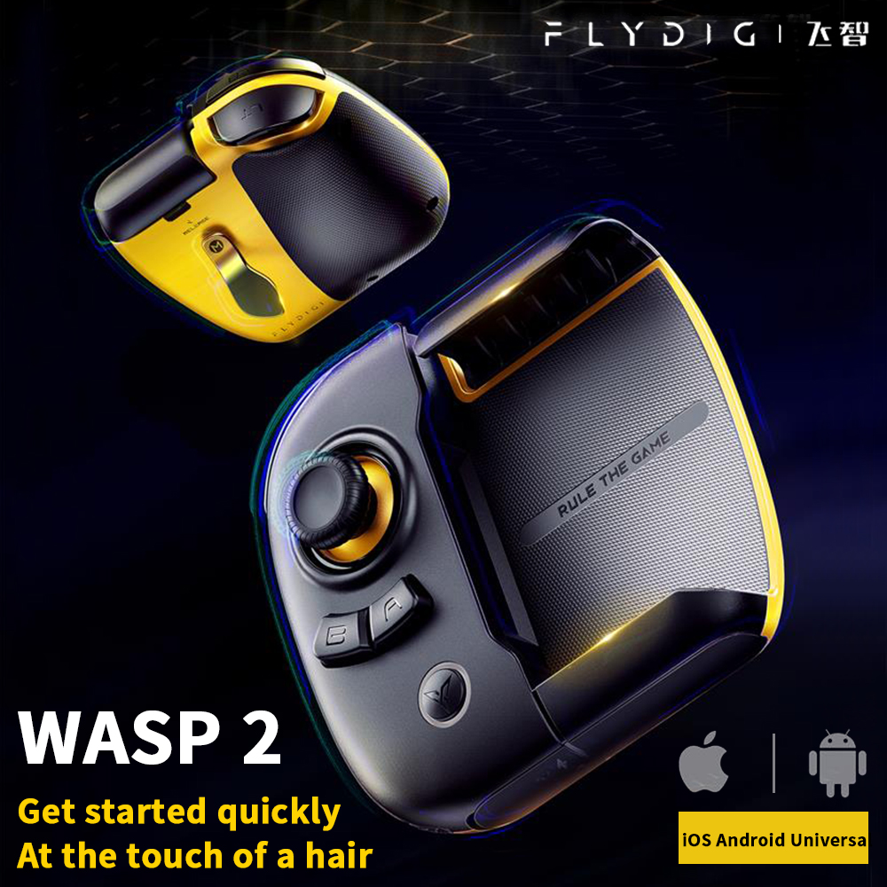 Flydigi Wasp 2 Gamepad Android iOS Phone Tablet Universal Bluetooth Auxiliary Automatic Pressure Grab Peripherals iPad Version(China)