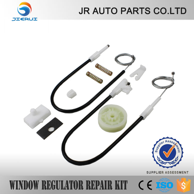 RENAULT MEGANE 1 PELATIH COUPE REGULATOR WINDOW ELECTRIC PERBAIKAN KIT DEPAN TEPAT