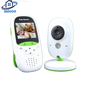 2.4GHz Wireless Video Color Baby Monitor High Resolution Baby Nanny Security Camera Intercom Babysitter