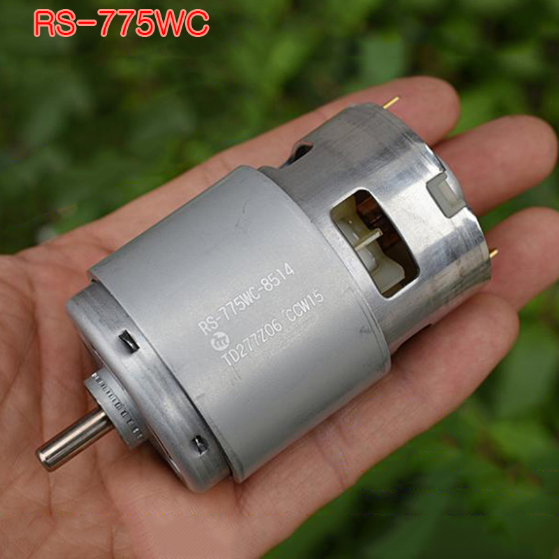 Original Mabuchi 735 755 775 DC Motor 12V 14.4V 18V 24V High Speed Power High Torque Garden Tool Electric Drill Motor