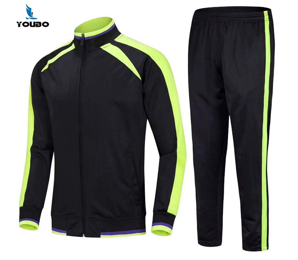 New Style Soccer Uniform Coat Autumn And Winter Sports Clothing MEN'S Sport Suit Jogging Suits Casual Clothing Printed Logo