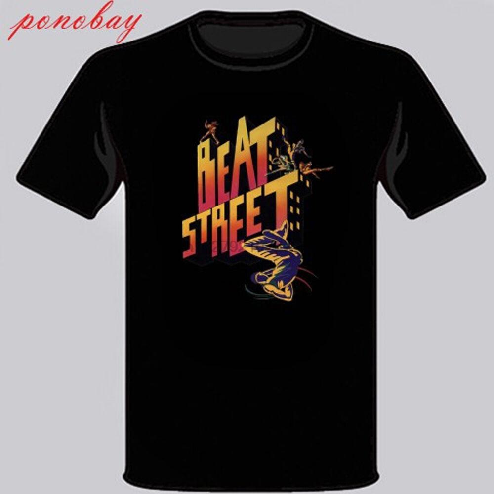 New Beat Street American 80s Drama Film Mens Black T-Shirt Size S M L XL 2XL 3XL(1)