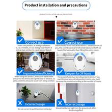 цена на Ultrasonic Mosquito Repellent Pest Repeller Insect Indoor Effective Rodent Spider Plug in Electronic Ultrasonic Pest Repeller