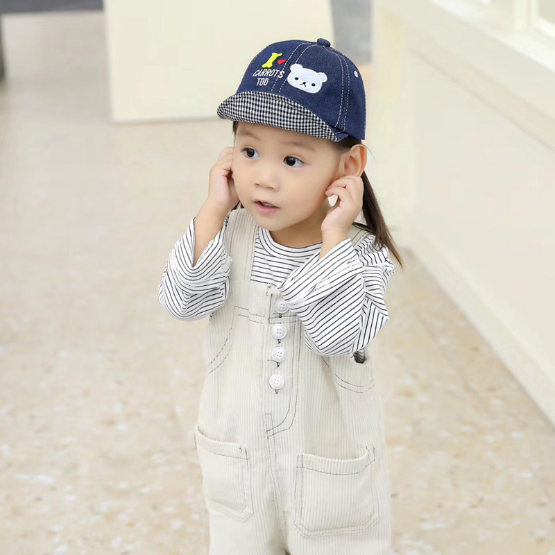 Hda01386fcea64a64a04a0f80edb61ed6j - Spring Autumn Baby Baseball Cap Cartoon Dinosaur Baby Boys Caps Fashion Toddler Infant Hat Children Kids Baseball Cap