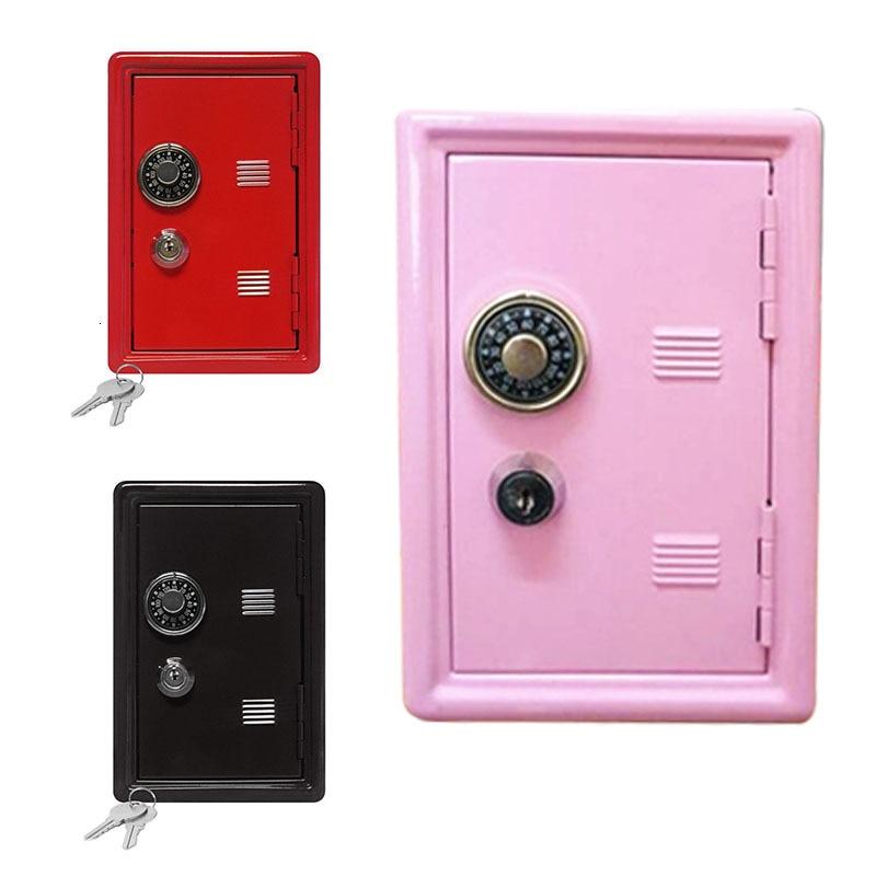 Mini Atm Money Box Creative Piggy Bank Password Digital Coins Cash Deposit Children Security Saving Safe Box Best New Year Gift