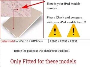 """Image 2 - גבוהה Duty שריון כיסוי עבור iPad 10.2 """"2019 A2200 A2198 A2233 מקרה עמיד הלם הסיליקון Stand Funda עבור iPad 7 10.2 2019 מקרה"""