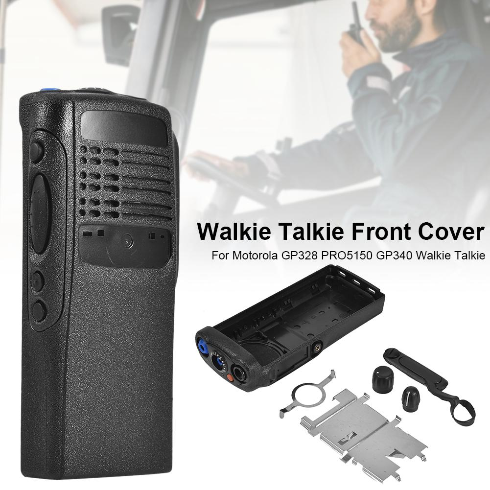 Front Cover Dust Cover Knob For Motorola GP328 PRO5150 GP340 Walkie Talkie