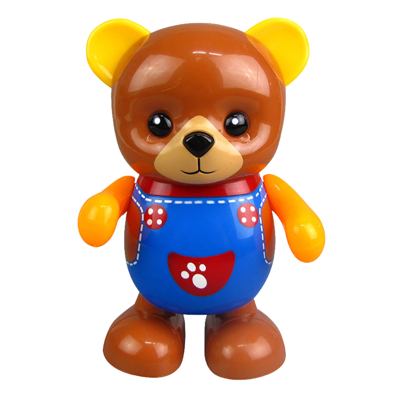 Electric Toy Bear, Swing Dancing Bear Toy Music Lighting Doll Toy Cute Toy