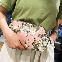 Женские сумки для макияжа из искусственной кожи с рисунками