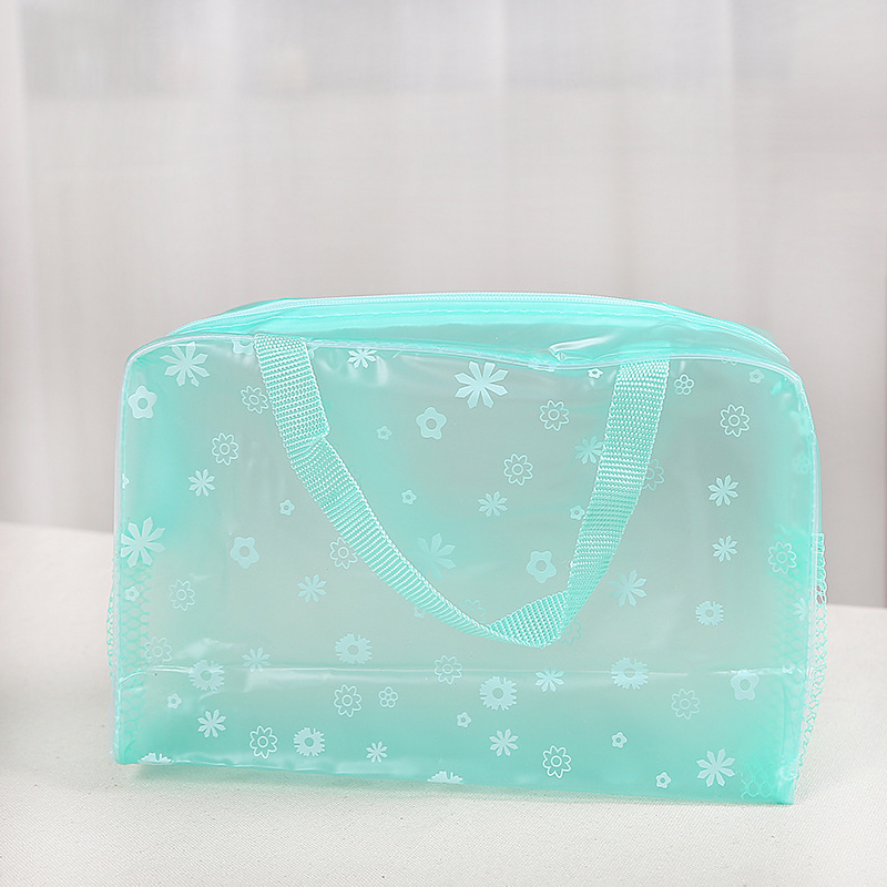 Sport Waterproof Swimming Bags For Women Makeup Organizer Toiletry Beach Storage Bag Phone Pocket Shoes PVC Dry Bag