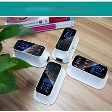 Estación de carga de escritorio para el hogar, enchufe de la UE, Reino Unido, teléfono móvil Universal, 8 puertos de carga rápida, Cargador USB 3,0, PD, 18 W, Multi USB