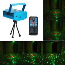 Sound Activated Rotating Disco Party Lights Laser Light Remote 5W LED Stage Lights For Christmas Home KTV Xmas Wedding Show sound activated party lights led disco ball projector 15 color led stage lights for christmas home ktv xmas wedding show