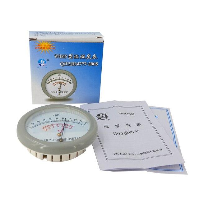 WHM5 cheveux température et humidité mètre Double ressort en métal divers Styles compacts et durables