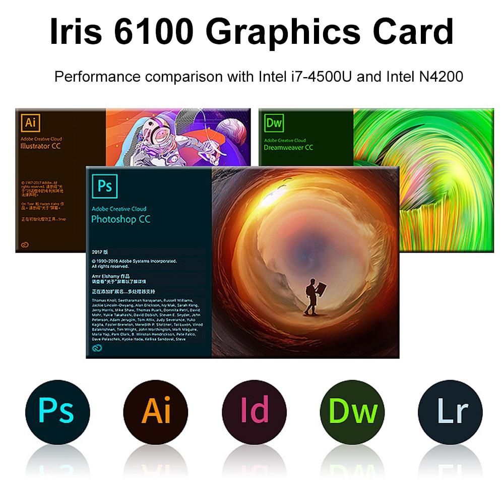 15.6 inch Metal Body Laptop intel i5 5257U 8GB 256 GB 512 GB SSD With Full Layout Keyboard Backlight Fingerprint Unlock Game 3