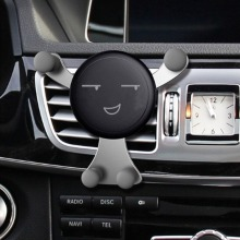 Kawaii Face Expression Design Car Air Vent Mount Holder Vehicle Cradle For Cell Phone