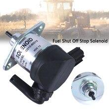 Аксессуары для отключения топлива 1C010-60015 алюминиевый сплав соленоид остановки практичный двигатель аварийная безопасность для Kubota M6800 M8200 M8540