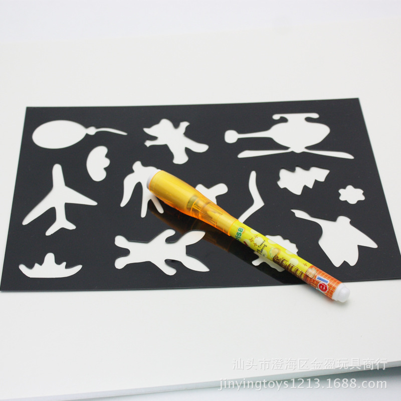 Russian Toy 3D Fluorescent Drawing Board New Style Children Night Light Sketchpad Toy Novelty Fun Doodle Toy Customizable
