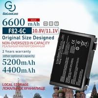 11,1 В Аккумулятор для ноутбука asus A32 F82 A32-F52 A32-F82 K40 K40in K50 K50in k50ij P81 X5A X5E X70 X8A K50ab K42j K51 K60 K61 K70