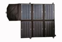 New ETFE Film Mono 40Watt 18V 5V Folding Solar Charger Bag Portable Solar Power Phone Charger Solar Panel for 12V Car Battery