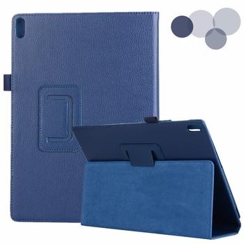 Чехол для Lenovo Tab E10 10,1 Lichi PU кожаный чехол для планшета чехол для Funda Lenovo TB-X104F TB X104F TB-X104L защитный чехол