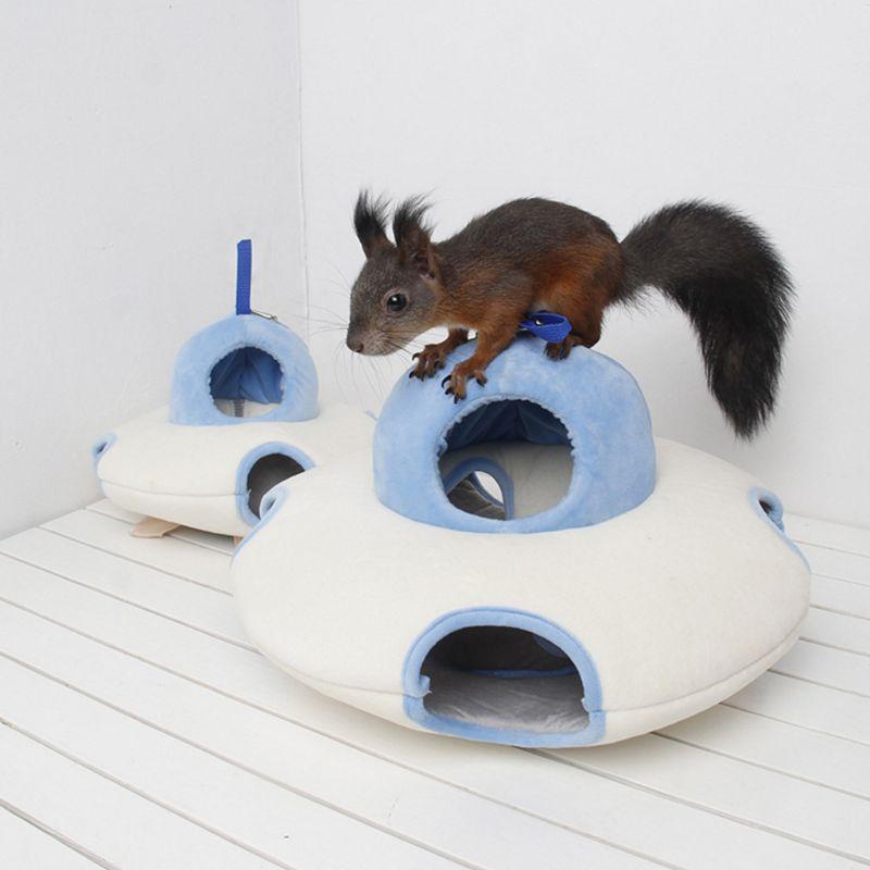 Nette Pet Guinea Pig Eichhörnchen Chinchillas Schlafen Bett Nest Hamster Hängematte